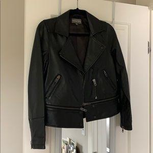 James purse leather jacket